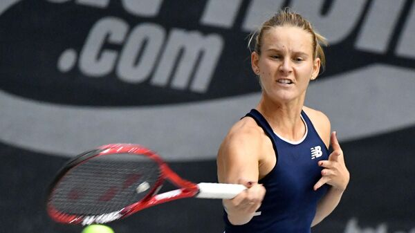 Французская теннисистка Фиона Ферро