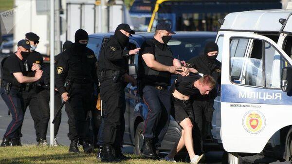 Задержания в Минске во время акции протеста. 10 августа 2020