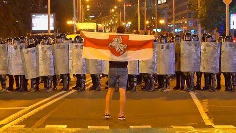 Протесты в Белоруссии: жаркая ночь после выборов