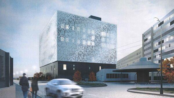 Проект корпуса НИИ автоматики в Москве