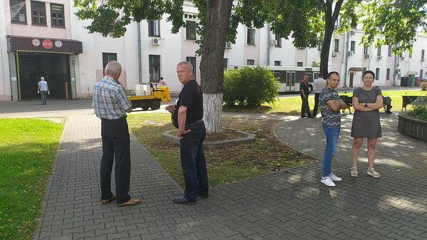 Ситуация возле Минского электромеханического завода имени Козлова