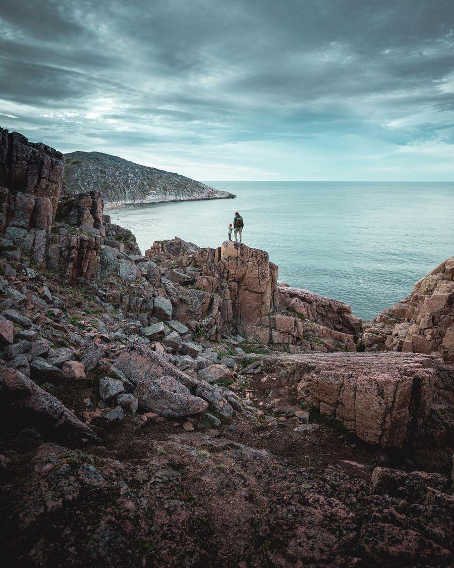 Вид на Баренцево море