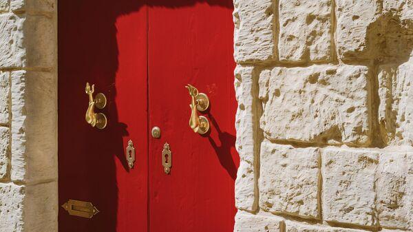 Традиционная мальтийская дверь