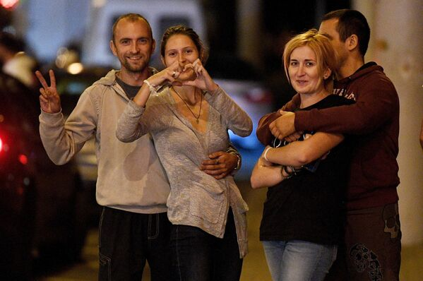 Акция протеста в Минске после президентских выборов