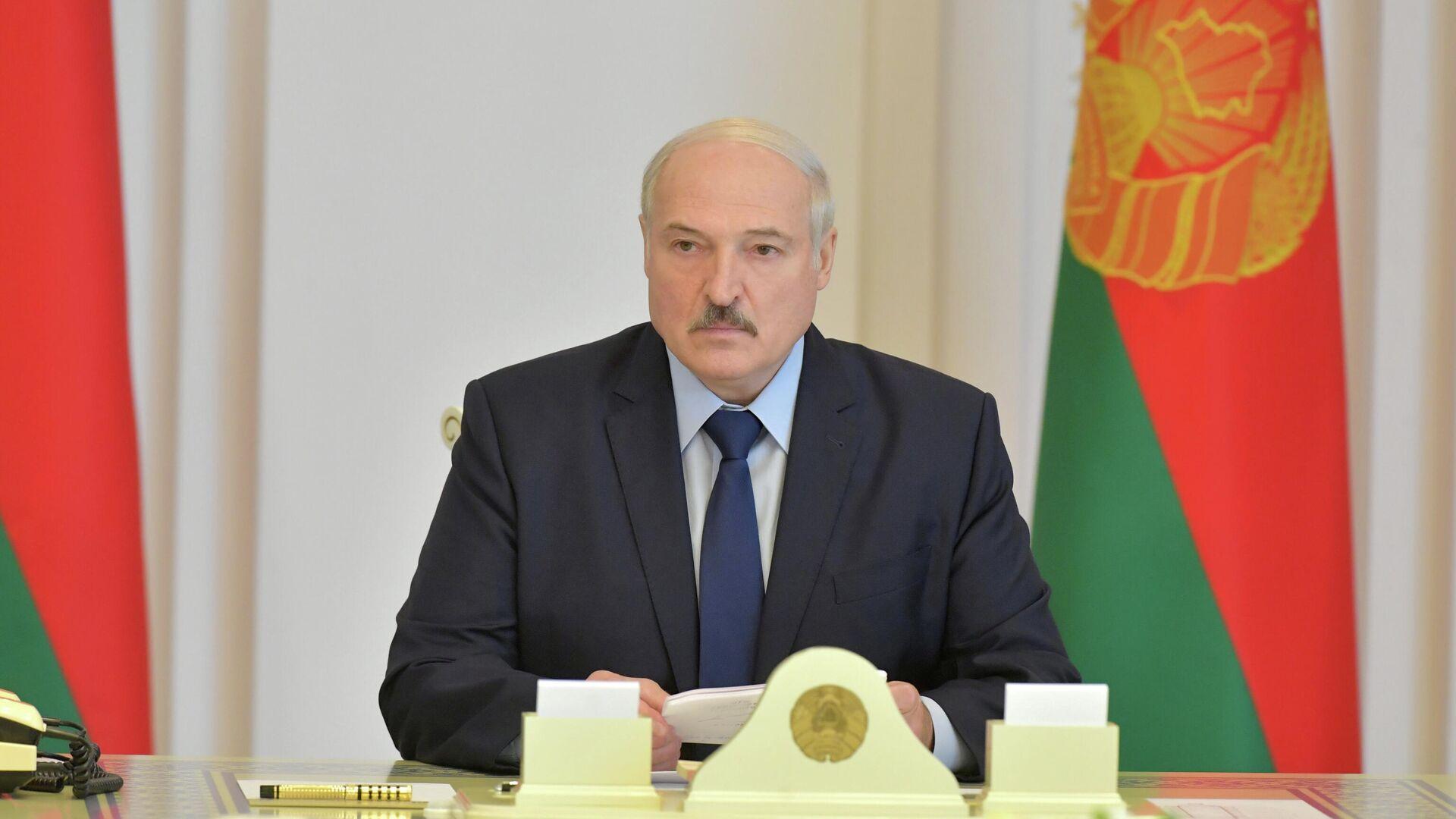 Президент Белоруссии Александр Лукашенко - РИА Новости, 1920, 07.09.2020
