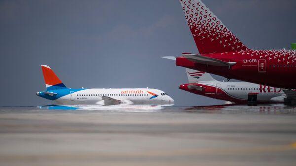 Пассажирские авиалайнеры