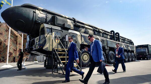 Ракета Тополь в Кубинке