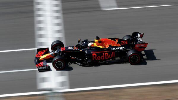 Пилот Формулы-1 Макс Ферстаппен на Гран-при Испании