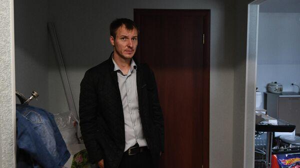 Житель Тулуна Евгений Филиппов