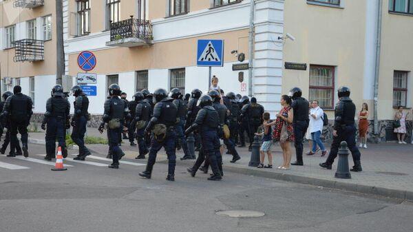 Акция протеста в Бресте