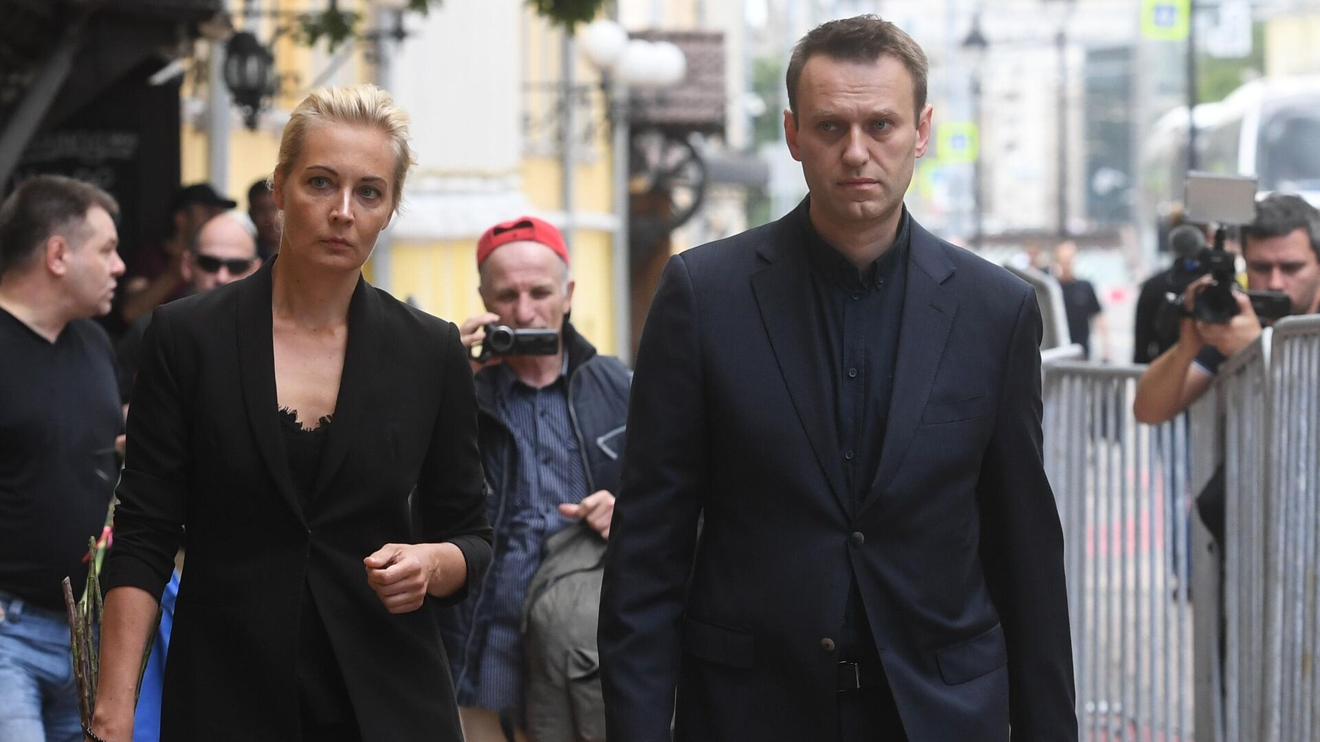 Алексей Навальный с супругой Юлией  - РИА Новости, 1920, 18.02.2021