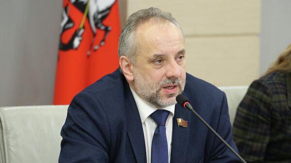 Депутат Мосгордумы от КПРФ Олег Шереметьев