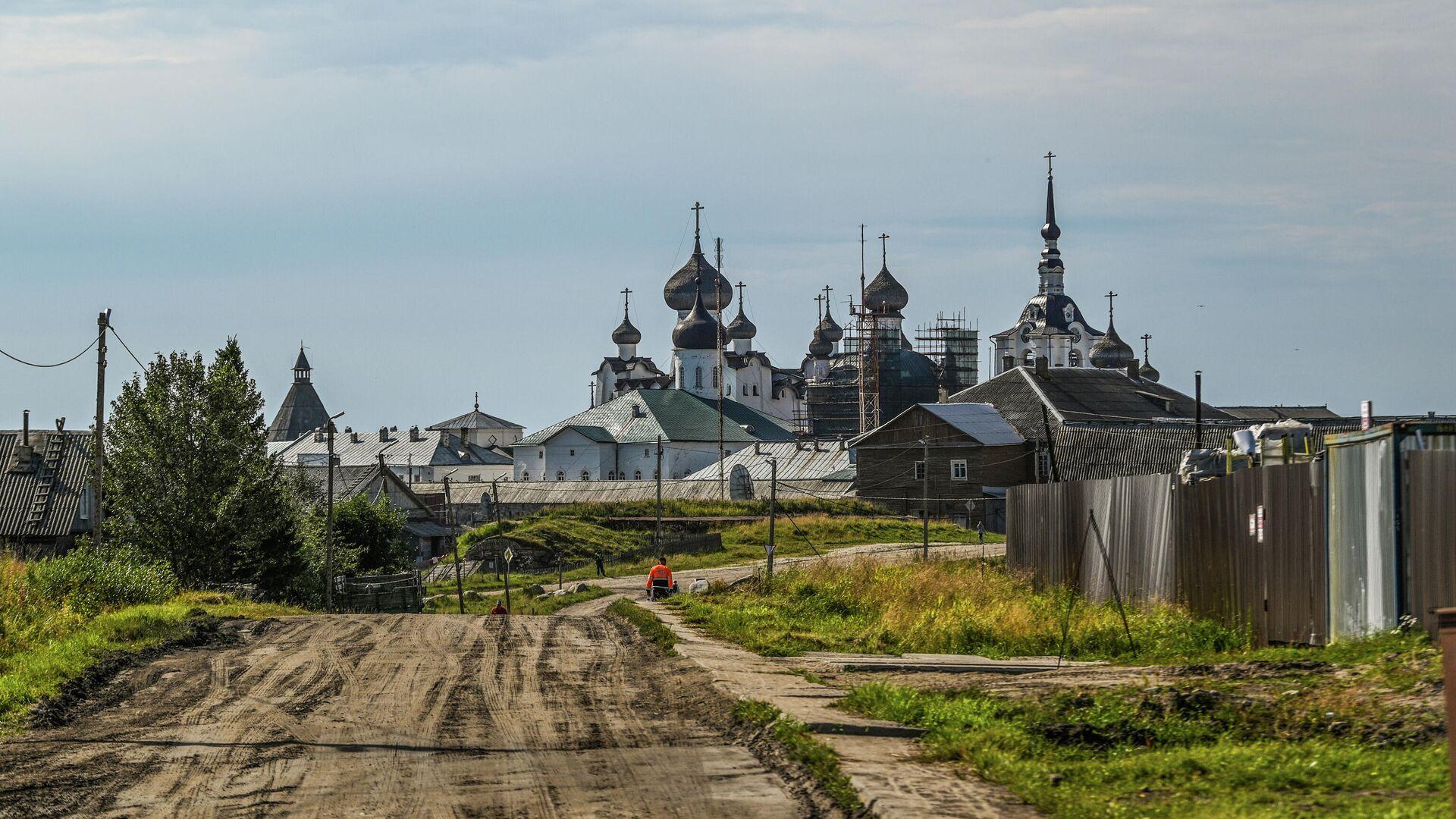 Соловецкий монастырь - РИА Новости, 1920, 20.08.2020