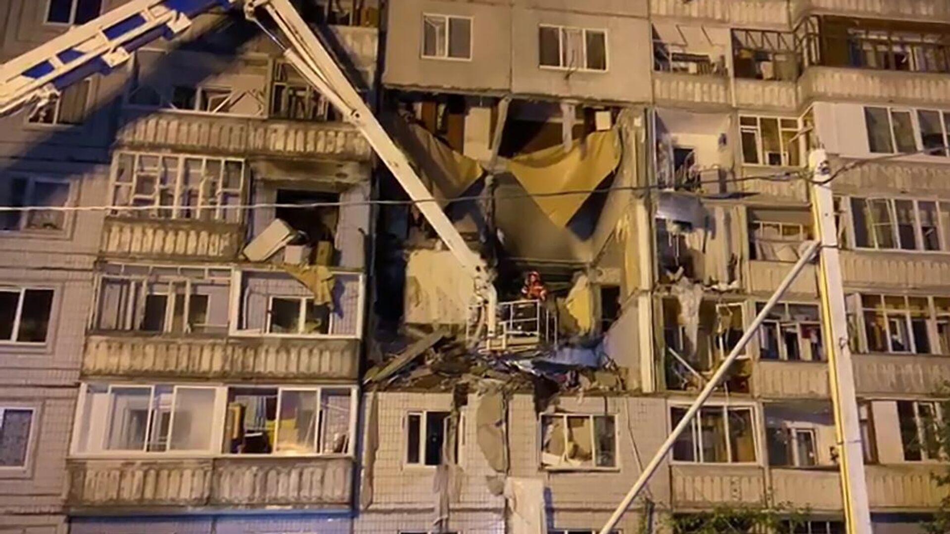 Взрыв газа в десятиэтажном доме в Ярославле - РИА Новости, 1920, 07.03.2021