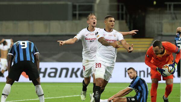 Финальный матч Лиги Европы Севилья - Интер