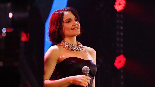 Джазовая певица Карина Кожевникова выступает на Международном джазовом фестивале Koktebel Jazz Party  2020 в Крыму