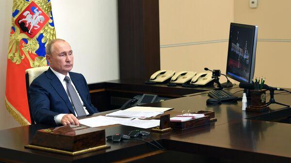 Президент РФ Владимир Путин вНово-Огарево