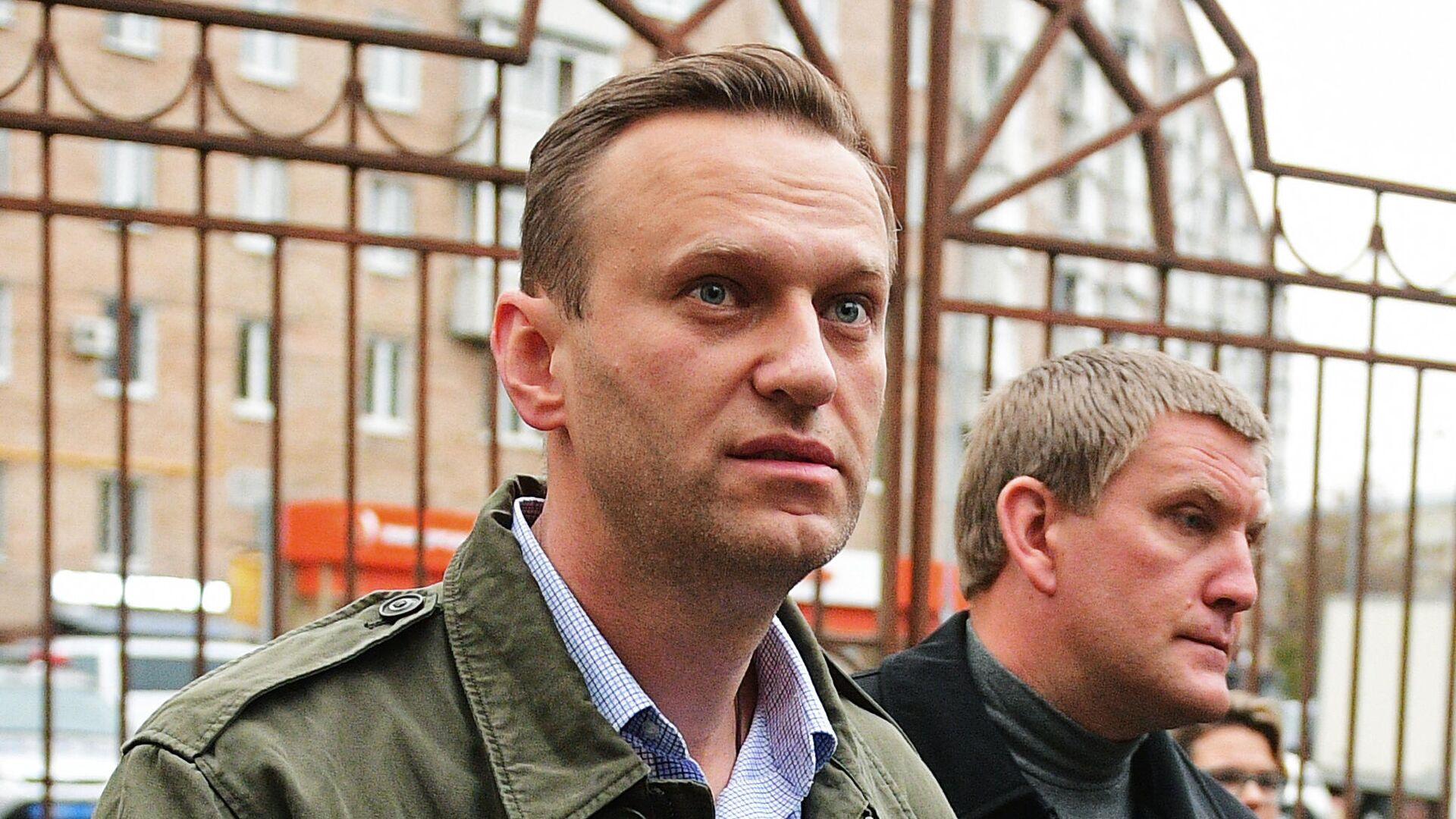 Алексей Навальный  - РИА Новости, 1920, 08.09.2020