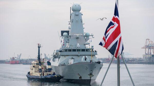 Корабль Королевских ВМС Великобритании HMS Duncan