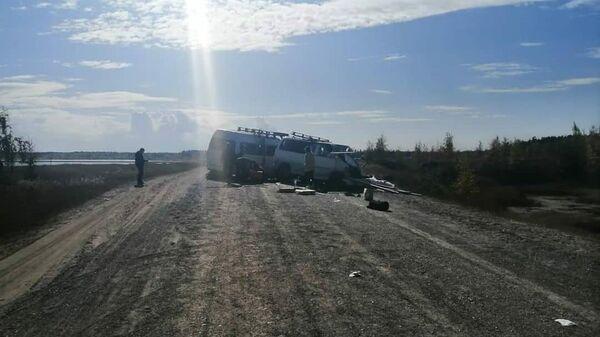 ДТП в Таттинском районе Якутии на ФАД Колыма