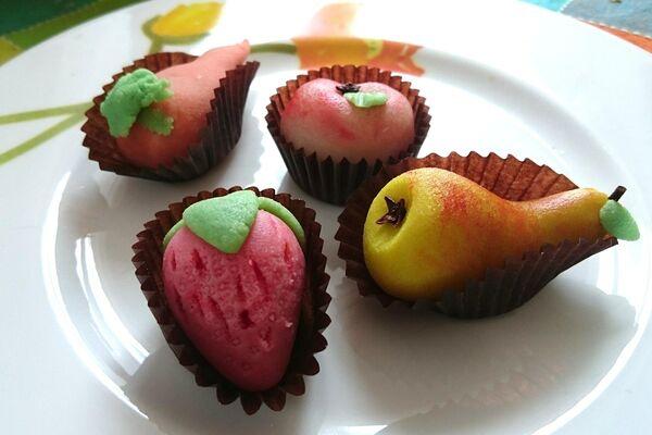 Марципановые сладости