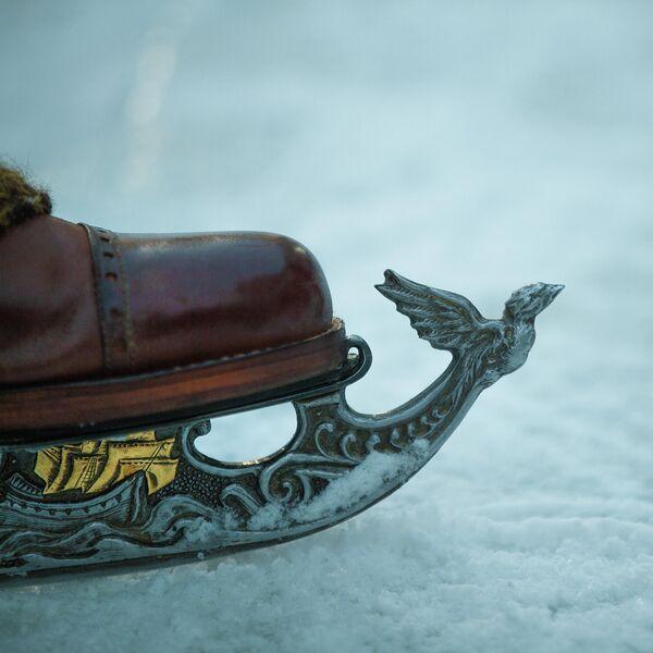 Кадр из фильма Серебряные коньки