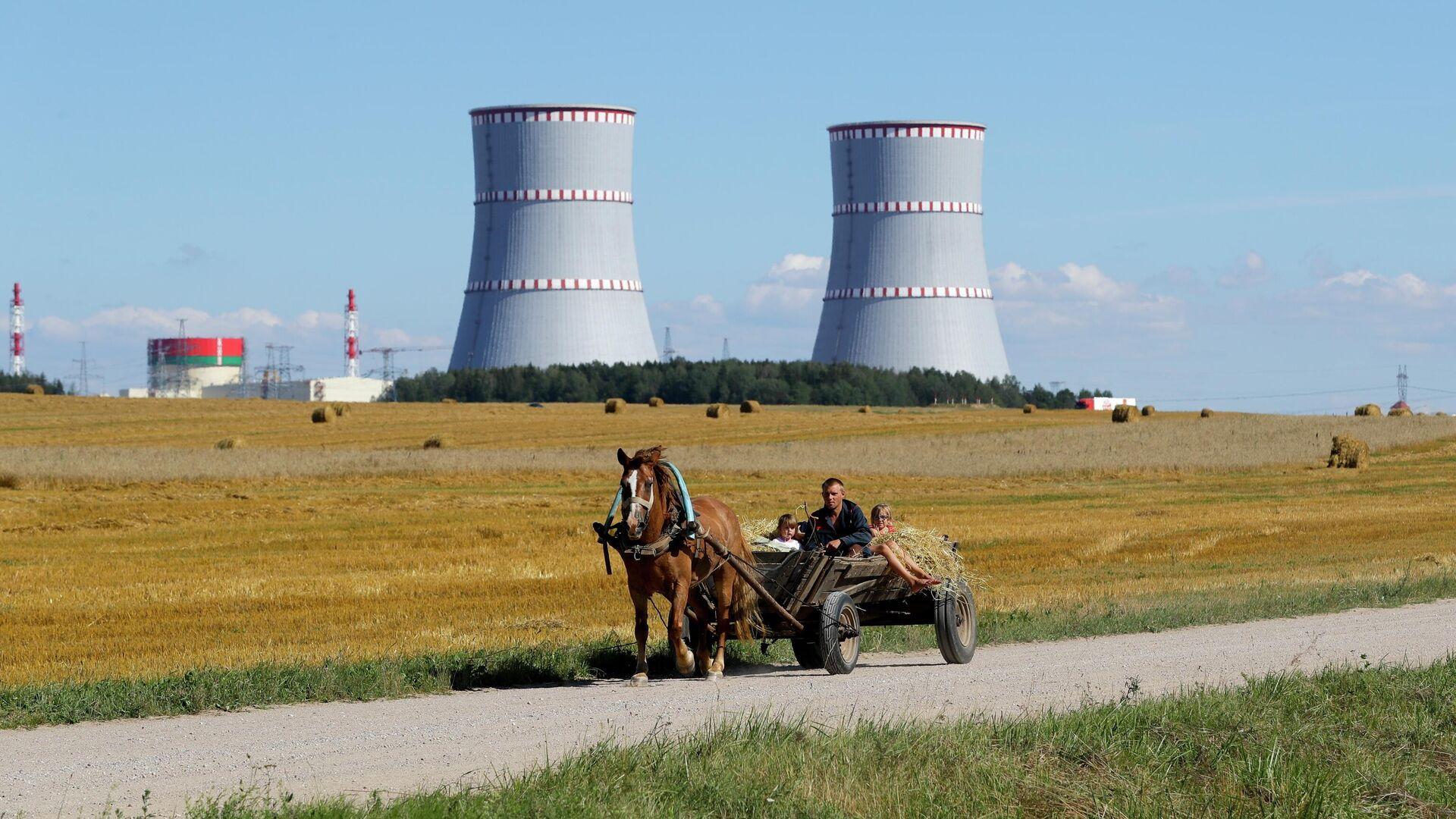 Белорусская АЭС  - РИА Новости, 1920, 01.09.2020