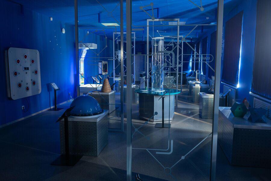 Интерактивный музей науки в детском технопарке Кванториум Сампо в Петрозаводске