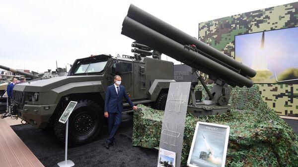 Противотанковый ракетный комплекс Гермес на выставке вооружений Международного военно-технического форума (МВТФ) Армия-2020 в военно-патриотическом парке Патриот