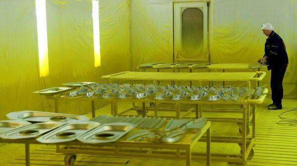 Цех гальванического производства на Казанском вертолетном заводе