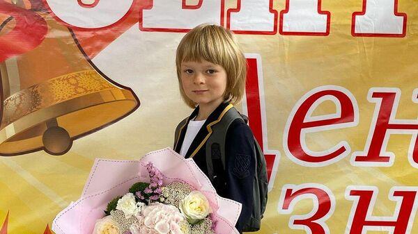 Александр Плющенко в школе