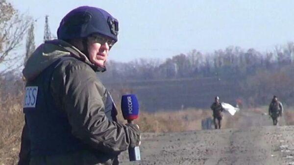 Журналист ВГТРК Александр Рогаткин