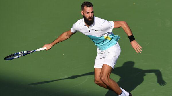 Французский теннисист Бенуа Пэр