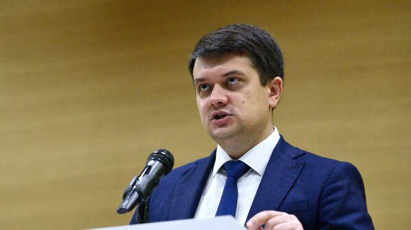 Председатель Верховной рады Дмитрий Разумков
