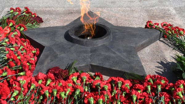 В Петербурге подростки затушили снегом Вечный огонь