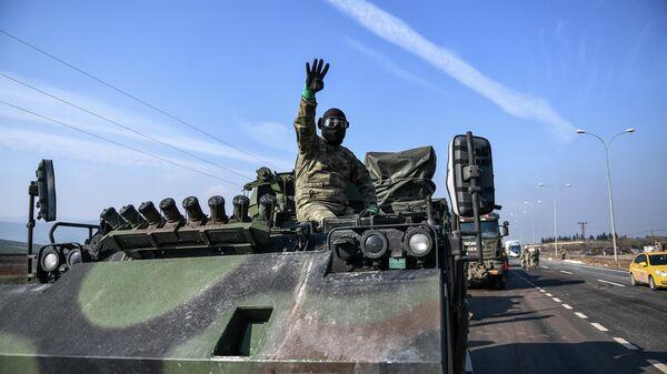 Турецкие военные в Хатае, Турция