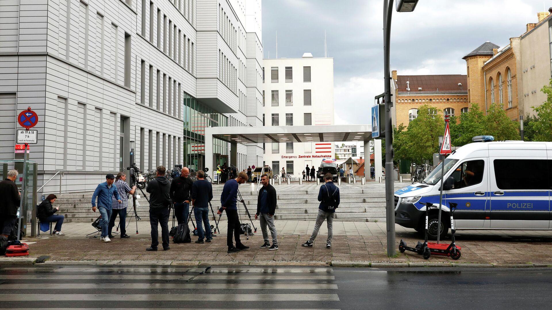 Больница Charite в Берлине, где находится Алексей Навальный - РИА Новости, 1920, 07.09.2020