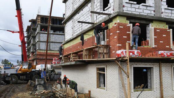 Строящиеся дома