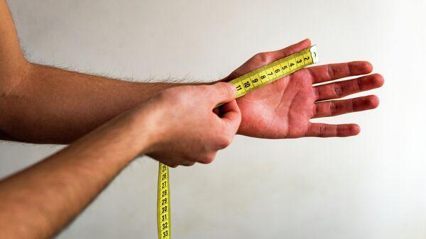 Измерение пальца