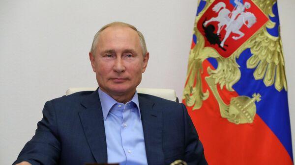 Президент РФ В. Путин провел встречу с победителями конкурса Лидеры России