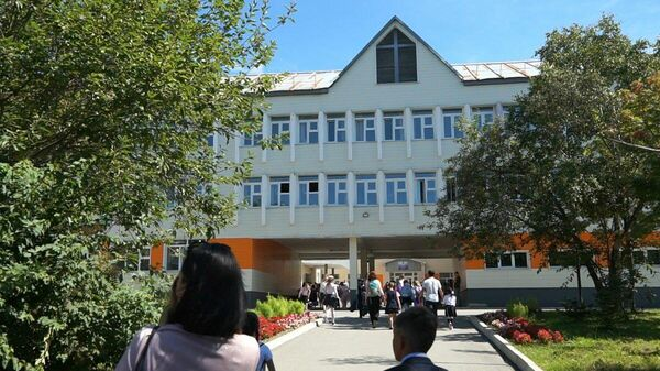 Школа №21 в Южно-Сахалинске
