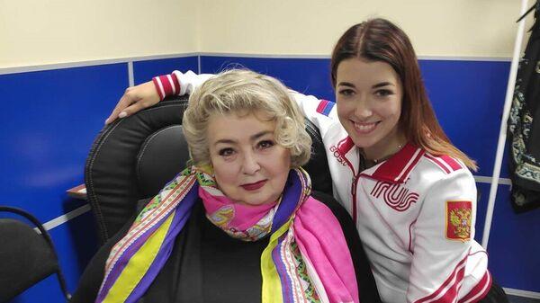 Татьяна Тарасова (слева) и Екатерина Боброва