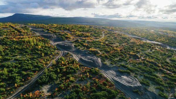 Месторождение Сухой Лог в Бодайбинском районе Иркутской области