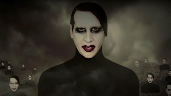 Кадр из клипа Marilyn Manson - WE ARE CHAOS