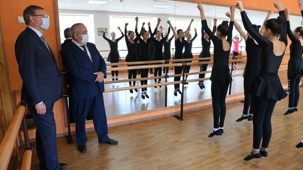 Губернатор Омской области открывает культурный центр в Азовском районе