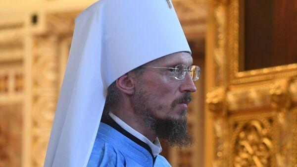 Возведение в сан митрополита нового главы Белорусской православной церкви