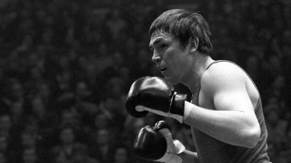 Абсолютный чемпион Советского Союза по боксу 1974 года Евгений Горстков.