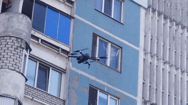 Проверка дома с помощью дрона в Самарской области