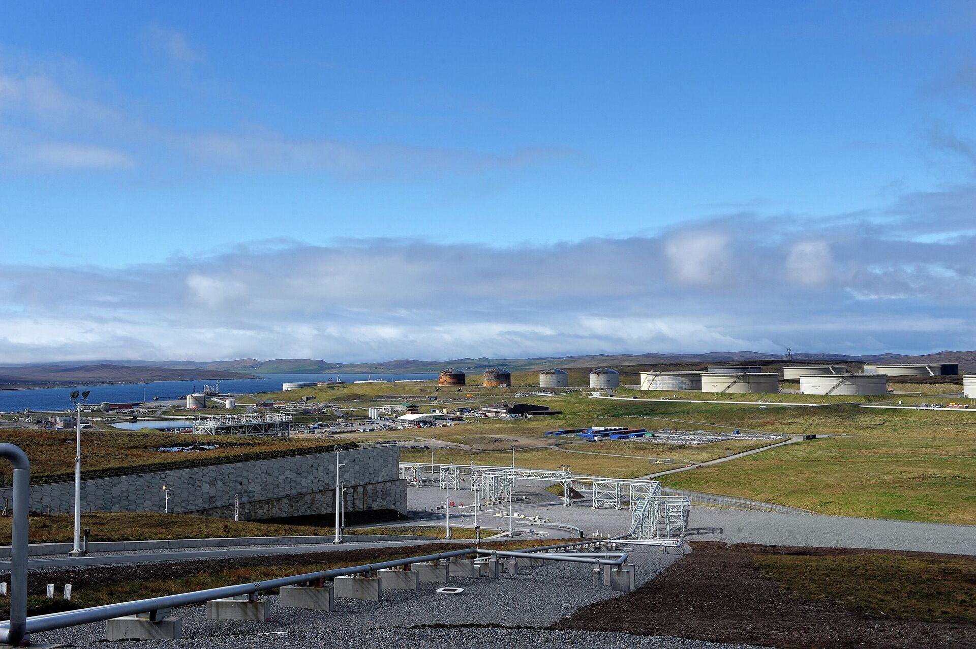 Газоперерабатывающий завод на Шетландских островах - РИА Новости, 1920, 14.09.2020
