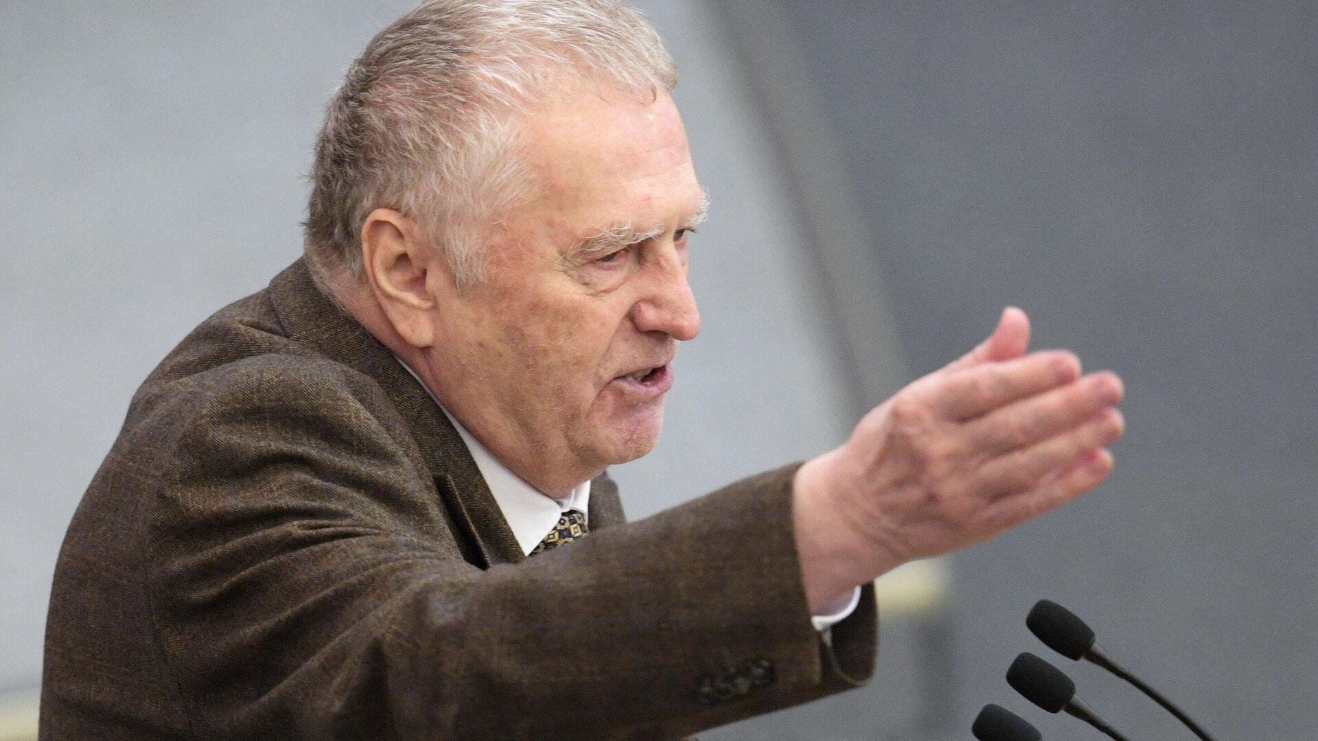 """Жириновский считает, что Запад """"проиграл"""", сделав ставки на Навального"""